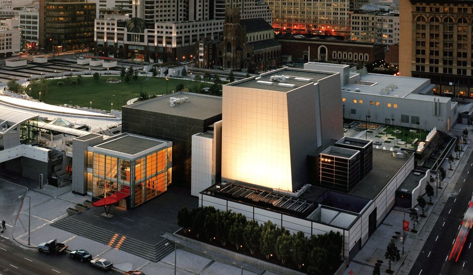 The Yerba Buena Center for the Arts hosts visual art exhibits, performances and other events.