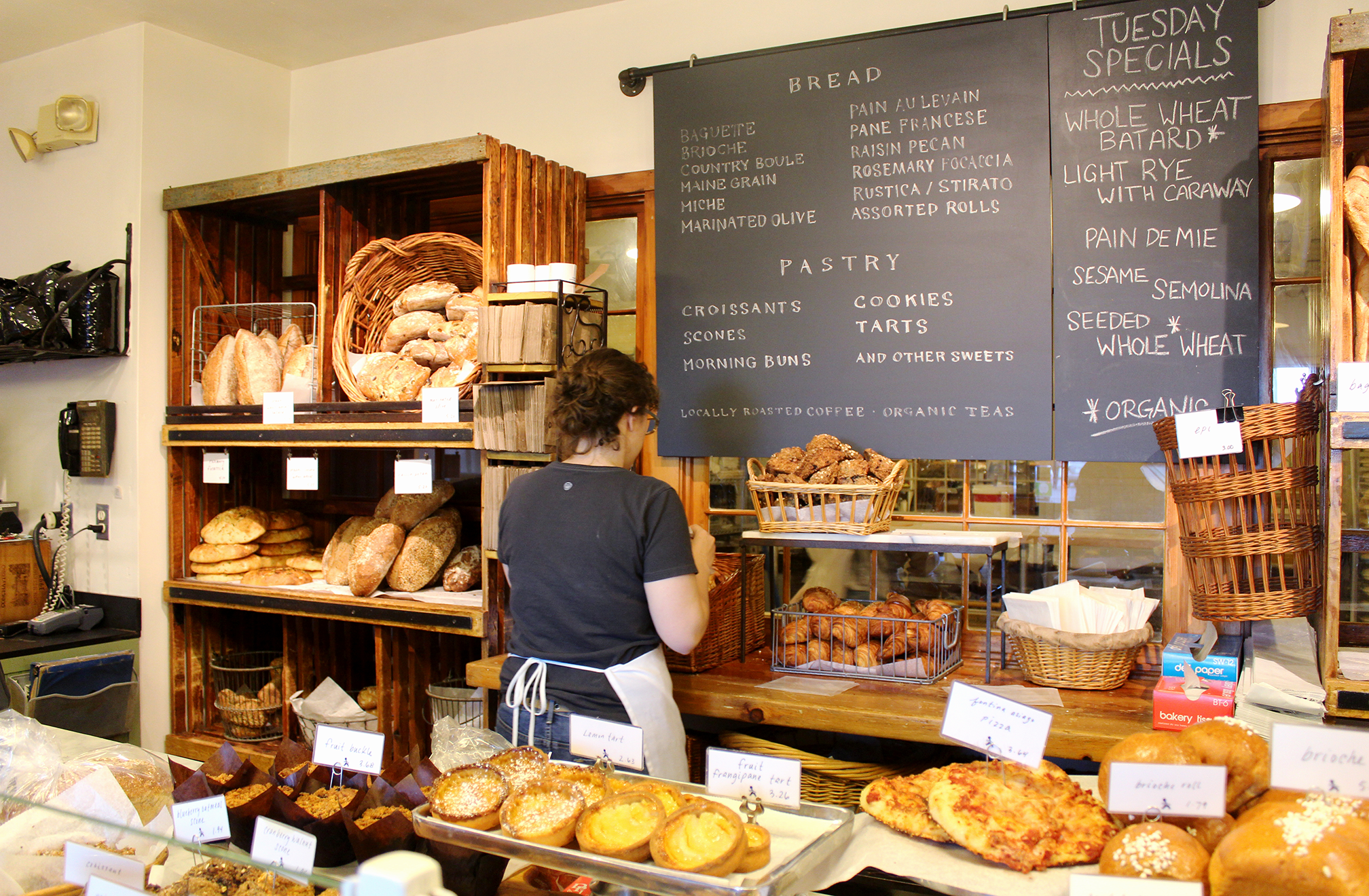 Destination Baking Company in Chenery Street is a cozy bakeshop known for great breakfast and coffee.
