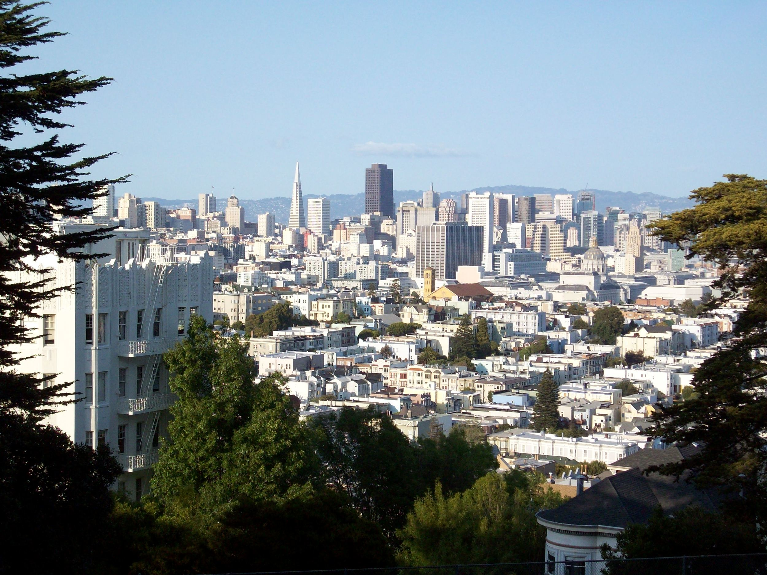 Buena Vista Park is the oldest park in San Francisco and known for its breathtaking views.