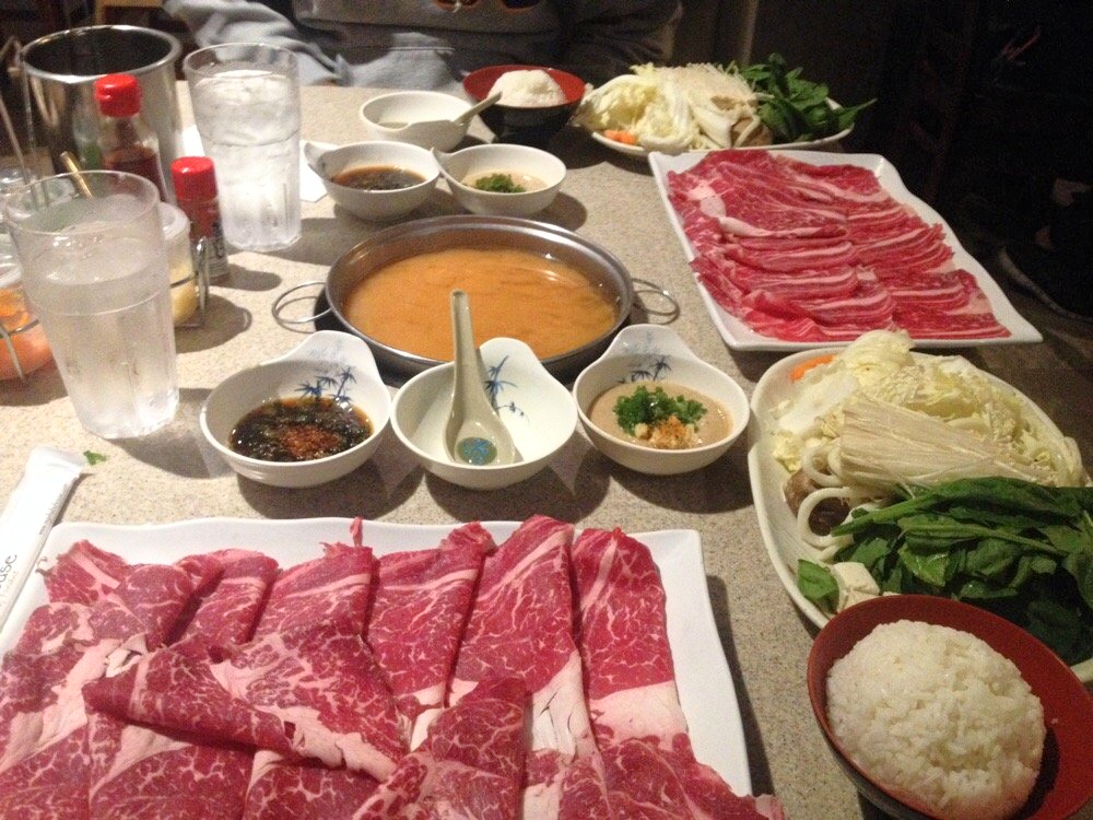 Shabu House, on Ocean Avenue between 19th Avenue and Junipero Serra Blvd, offers a cook on your own dining experience.