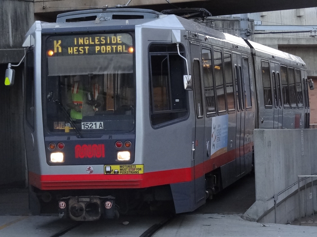 The M-Oceanview and K-Ingleside MUNI lines make it easy to get downtown.