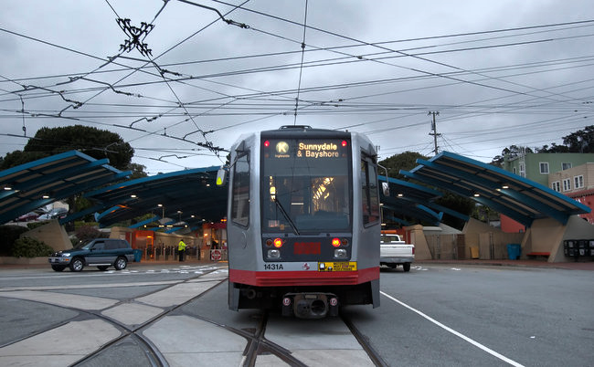 The K-MUNI line provides easy access to downtown and other parts of the city.