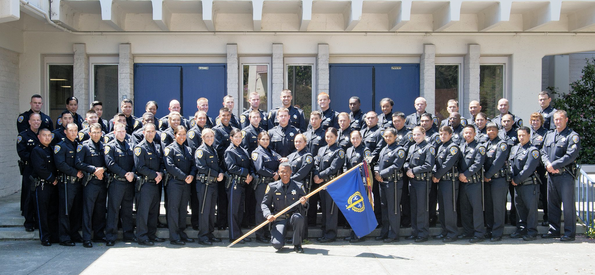 The San Francisco Police Academy has its home on Amber Drive.