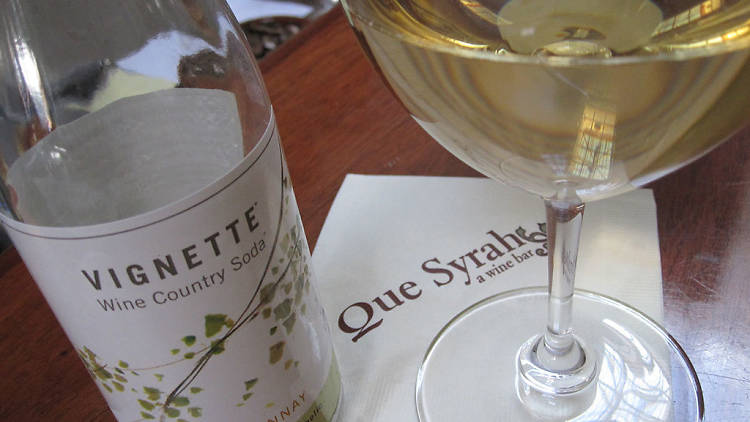 Que Syrah is a cozy wine bar on West Portal Avenue that serves up an impressive selection of small-production wines