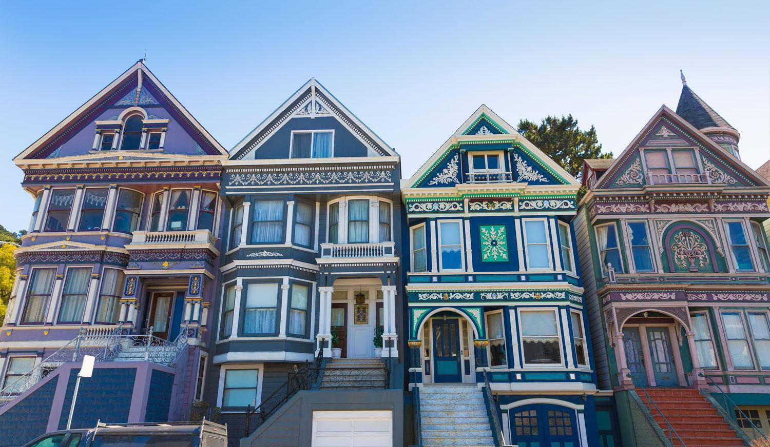 Beautifully restored Victorian homes lining the Panhandle are particularly desirable.