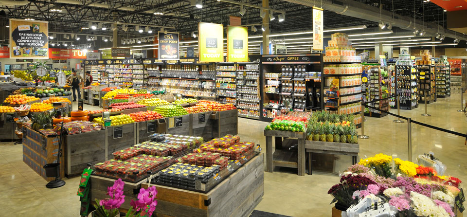 The Whole Foods on Stanyan Street is a great place to stock up on fresh, local, organic staples.