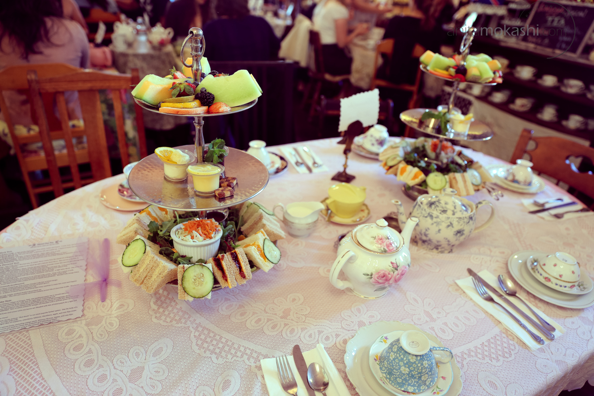 Lovejoy's Tea Room on Church Street is a cozy spot for tea, scones and conversation.