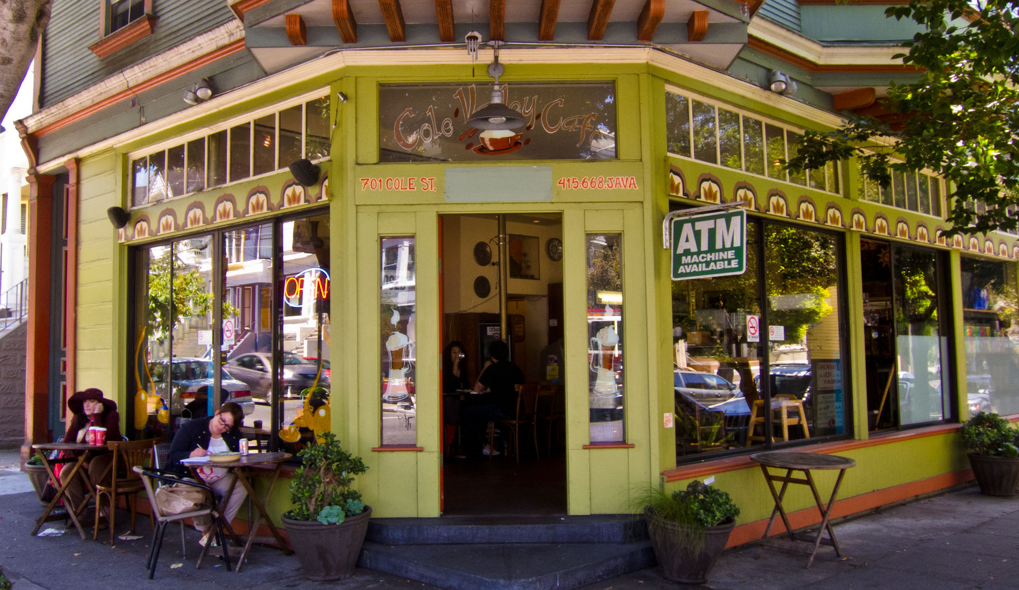 The Cole Street shopping district is a destination for great restaurants, coffee and gourmet shops, and a variety of mom-and-pop retail establishments.