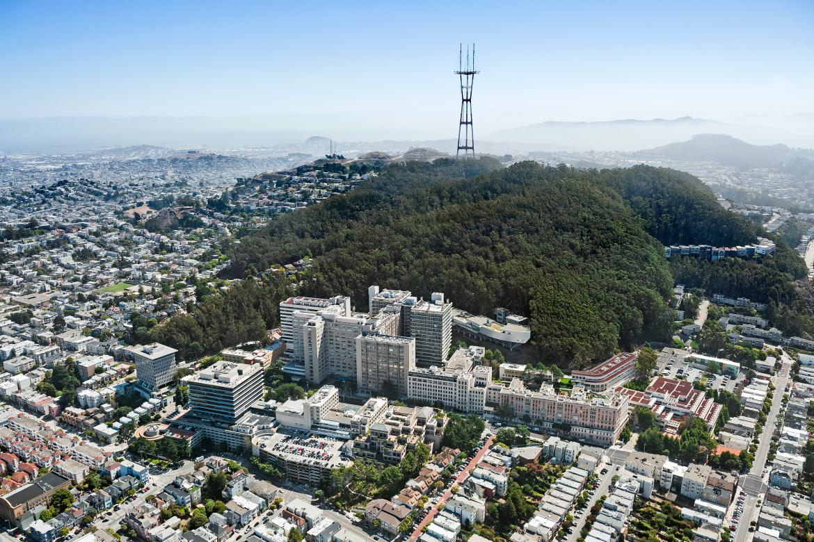 UCSF Parnassus Medical Center is regarded as one of the world's leading universities in health sciences.