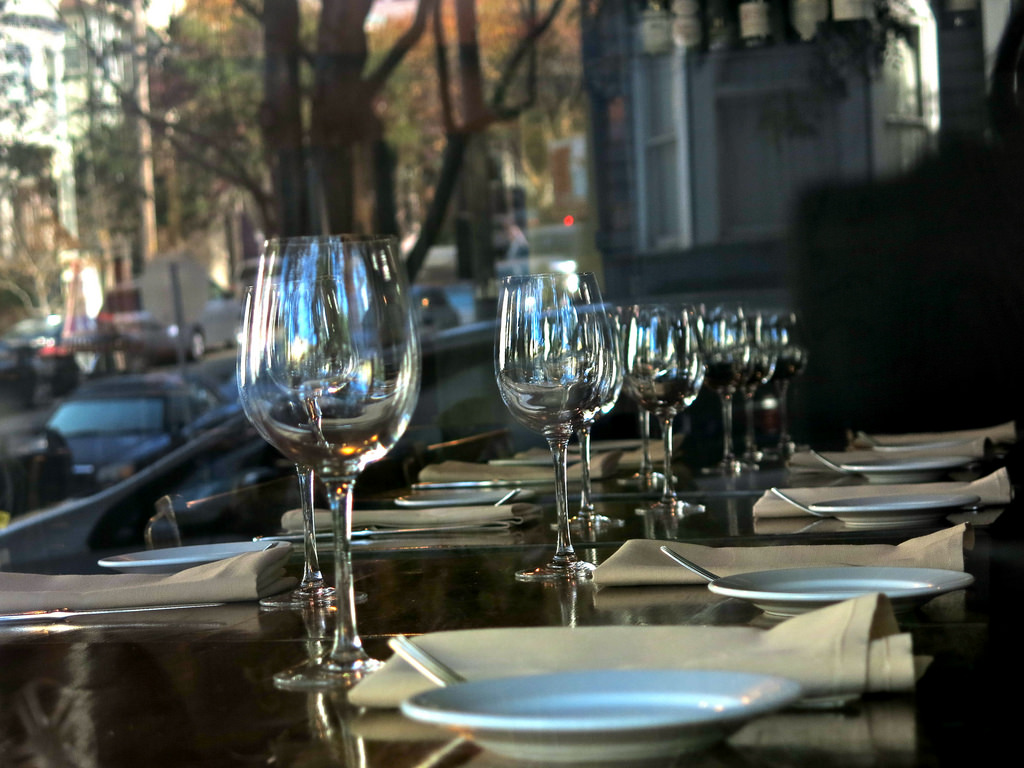 L'Ardoise on Noe Street is an intimate French bistro with an excellent wine list.