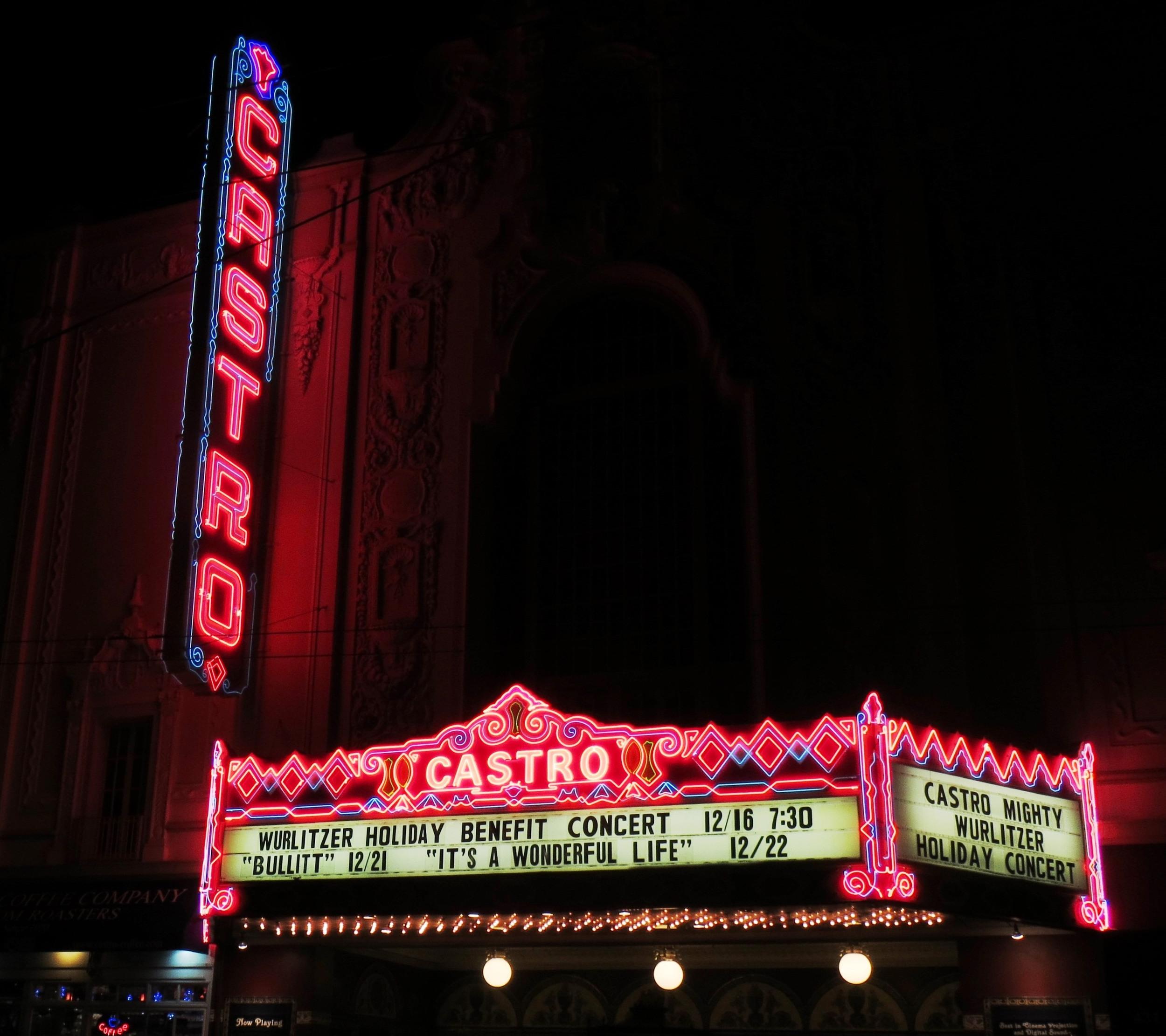 Castro Theatre is a San Francisco historic landmark.