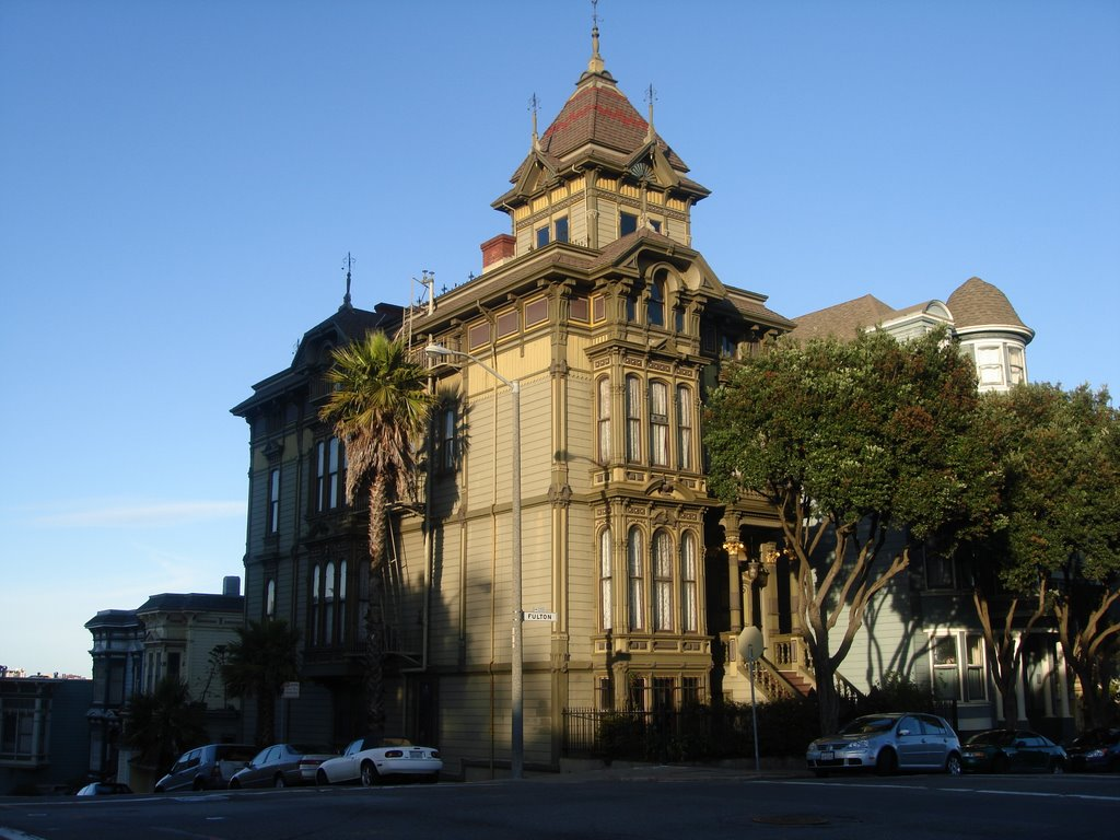The William Westerfeld House at Fulton and Scott is listed on the National Register of Historic Places.
