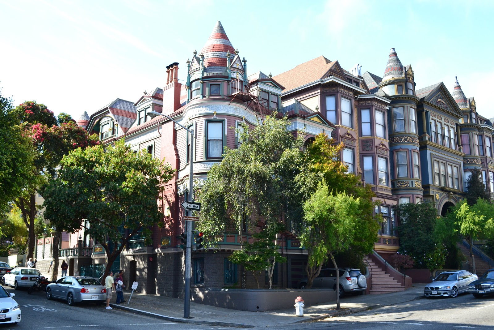 Chateau Tivoli, built in 1892 and now a B&B, is a classic example of the city's iconic late-19th-century architecture.