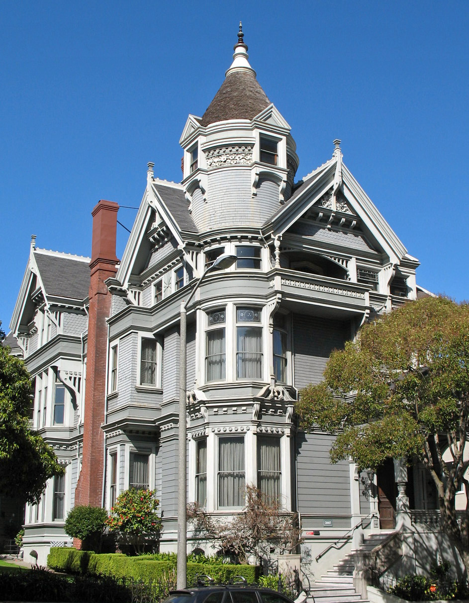 The Haas Lilienthal House is a fully furnished, preserved 1886 Queen Anne Victorian that serves as headquarters for San Francisco Architectural Heritage—and is open for tours.
