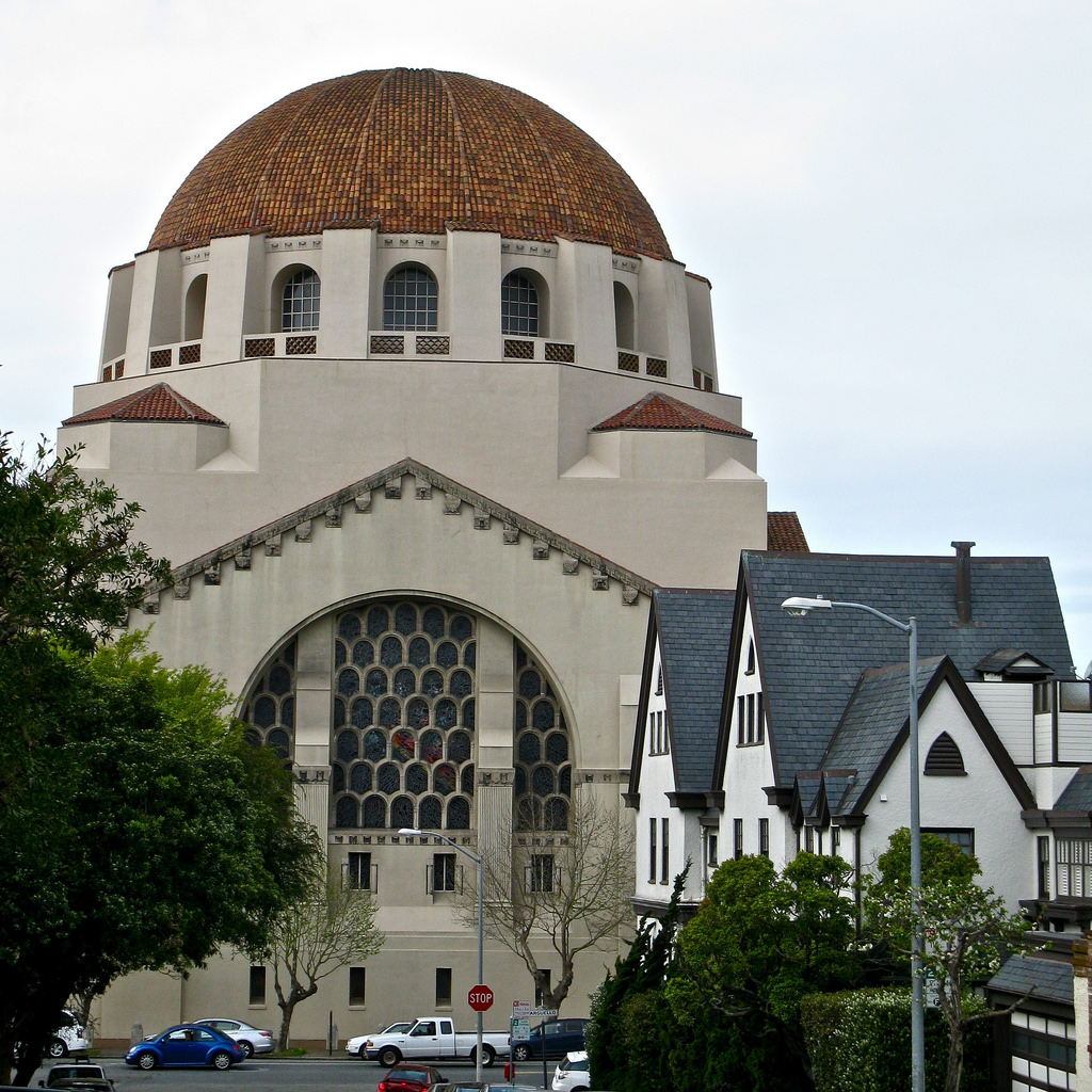 Founded in 1850, Temple Emanu-El is one of the two oldest Jewish congregations in California.