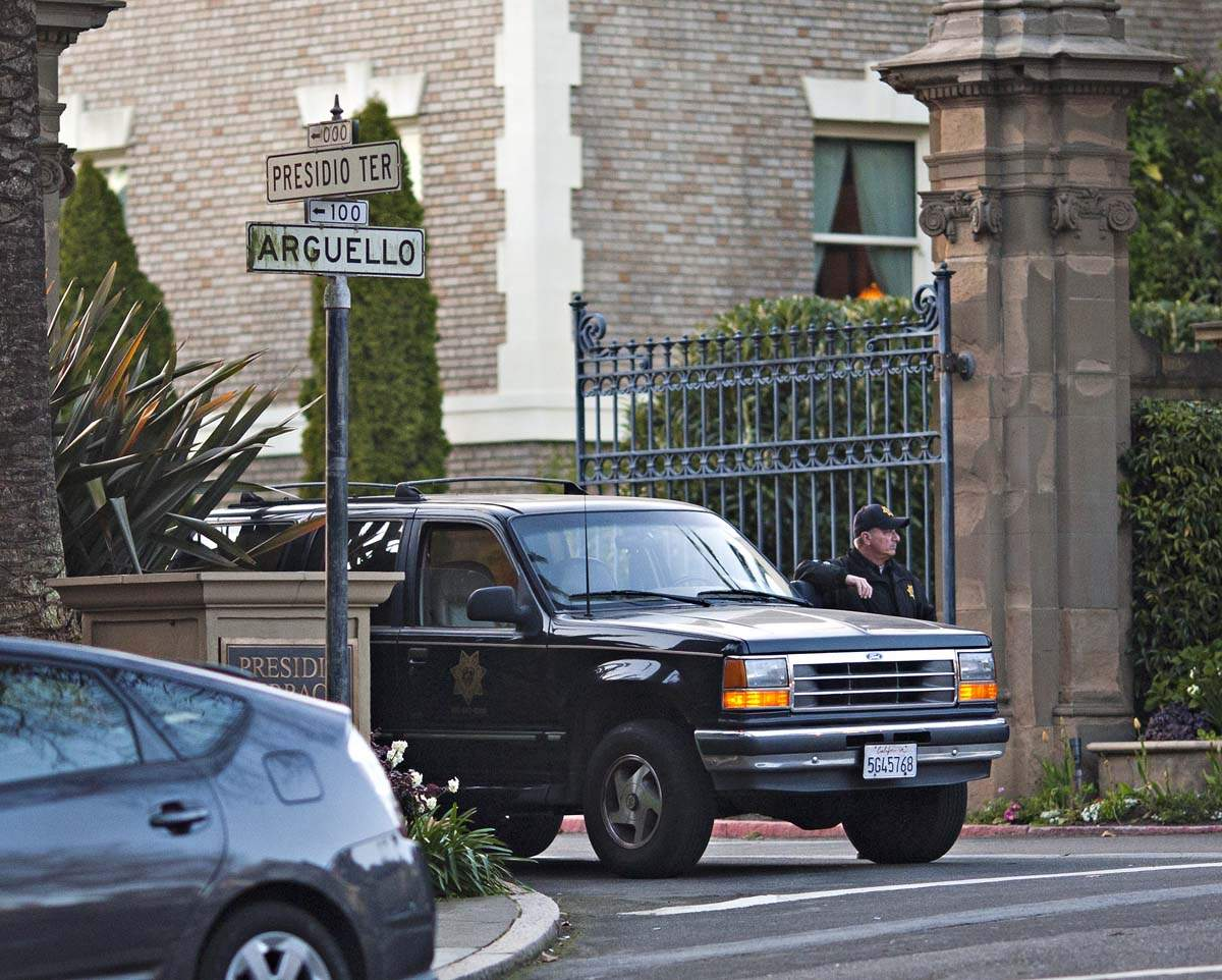 Located adjacent to the Presidio, Presidio Terrace is a small, gated community filled with Beaux-Arts, Mission Revival and Tudor Revival mansions.