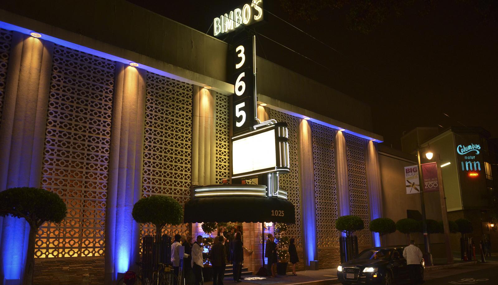 Rita Hayworth got her start at Bimbo's 365 supper club and speakeasy in 1931.