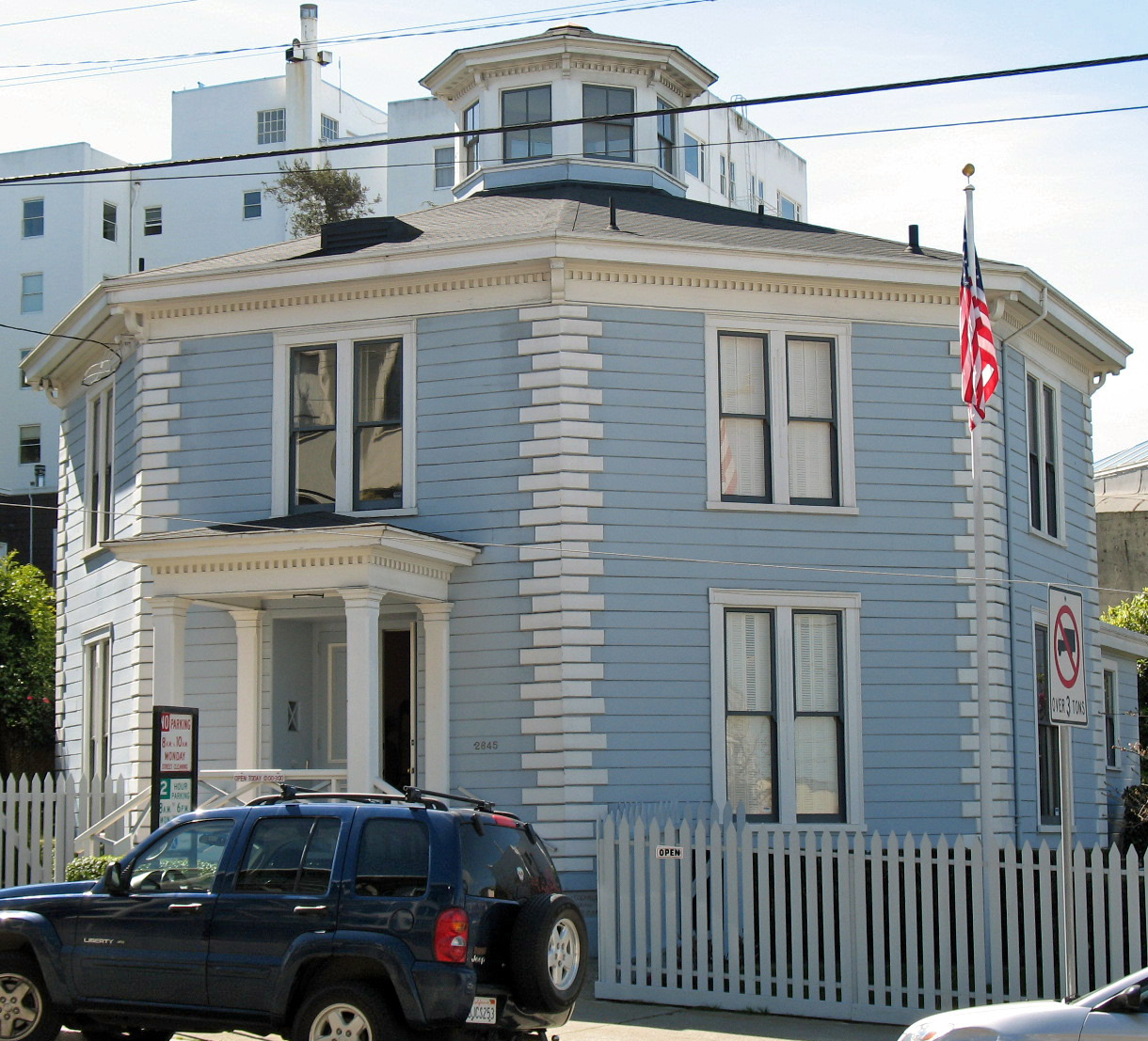 Built between 1857 and 1859, the Feusier Octagon House is one of the last remaining octagon-shaped structures in the city.