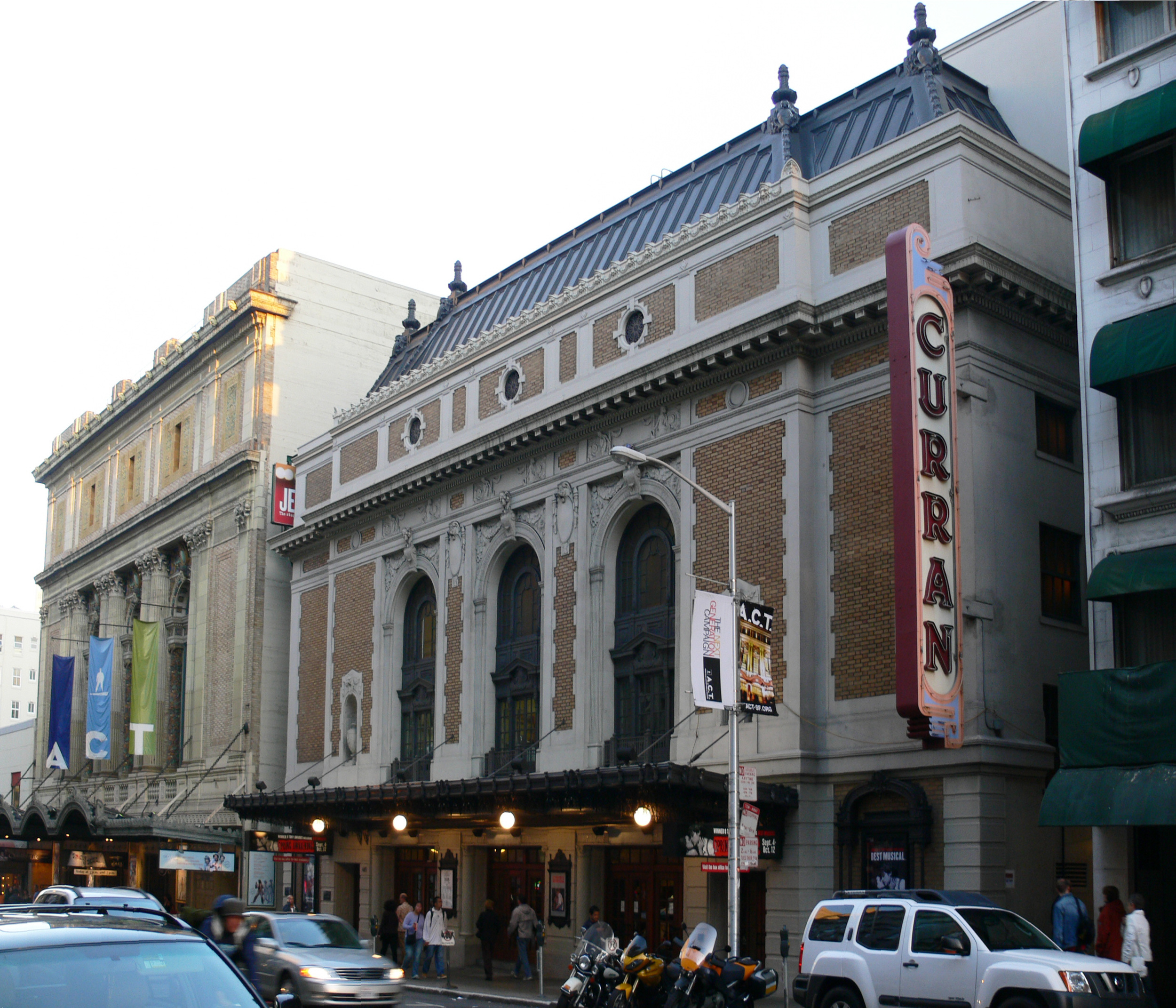 The Curran Theatre shows first-class productions throughout the year.
