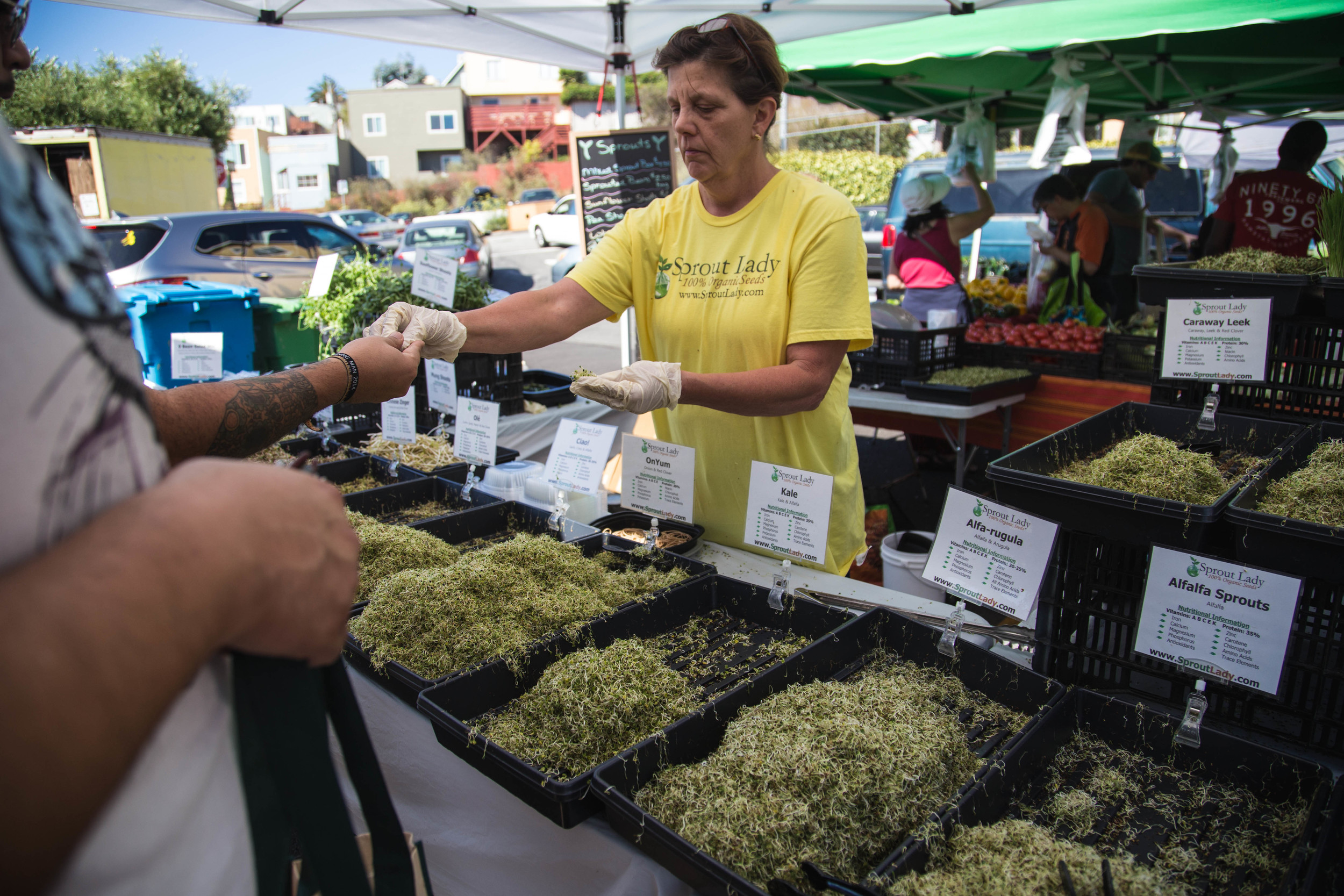 Held on Saturday mornings, the historic Alemany Farmers Market has operated in its current location since 1947.