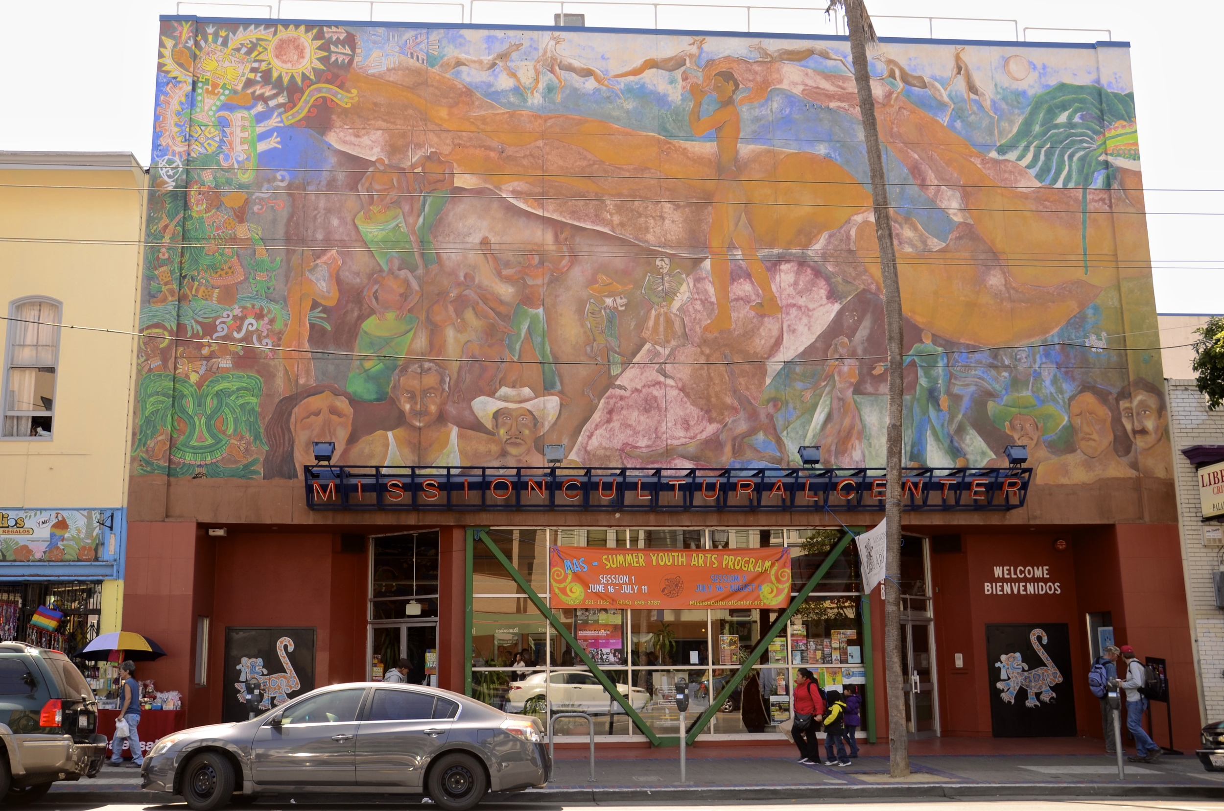 The Mission Cultural Center for the Latino Arts was founded in 1976 by Latino artists and activists.