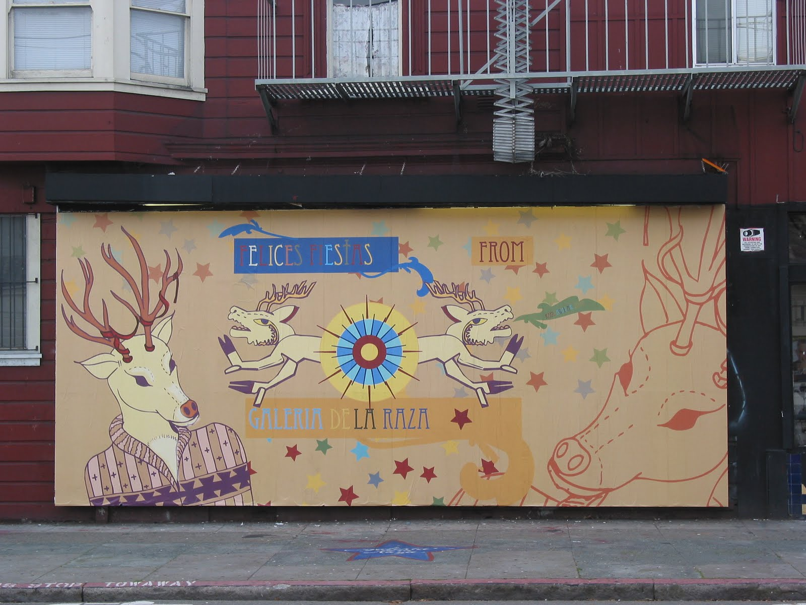 The Mission's Galería de la Raza is a nationally recognized arts organization founded in 1971 during the Mission's cultural and social renaissance.