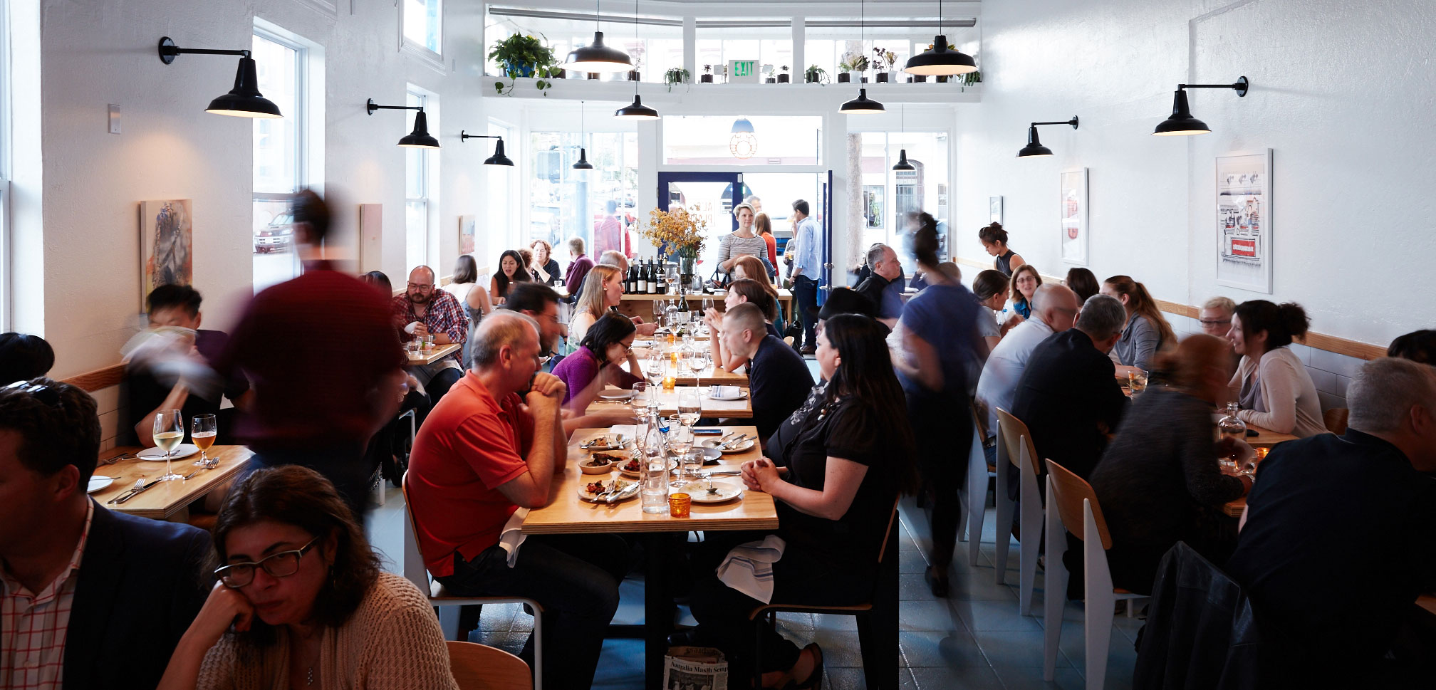 The Valencia Corridor is known for its innovative restaurants and eclectic shops.