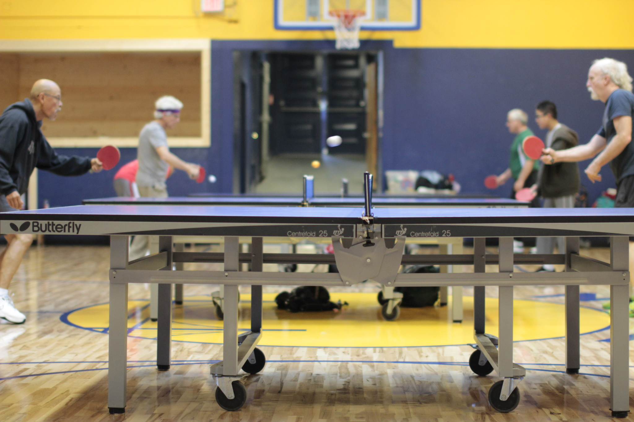 The Potrero Hill Recreation Center has a gymnasium, basketball and tennis courts, a baseball diamond and a playground.