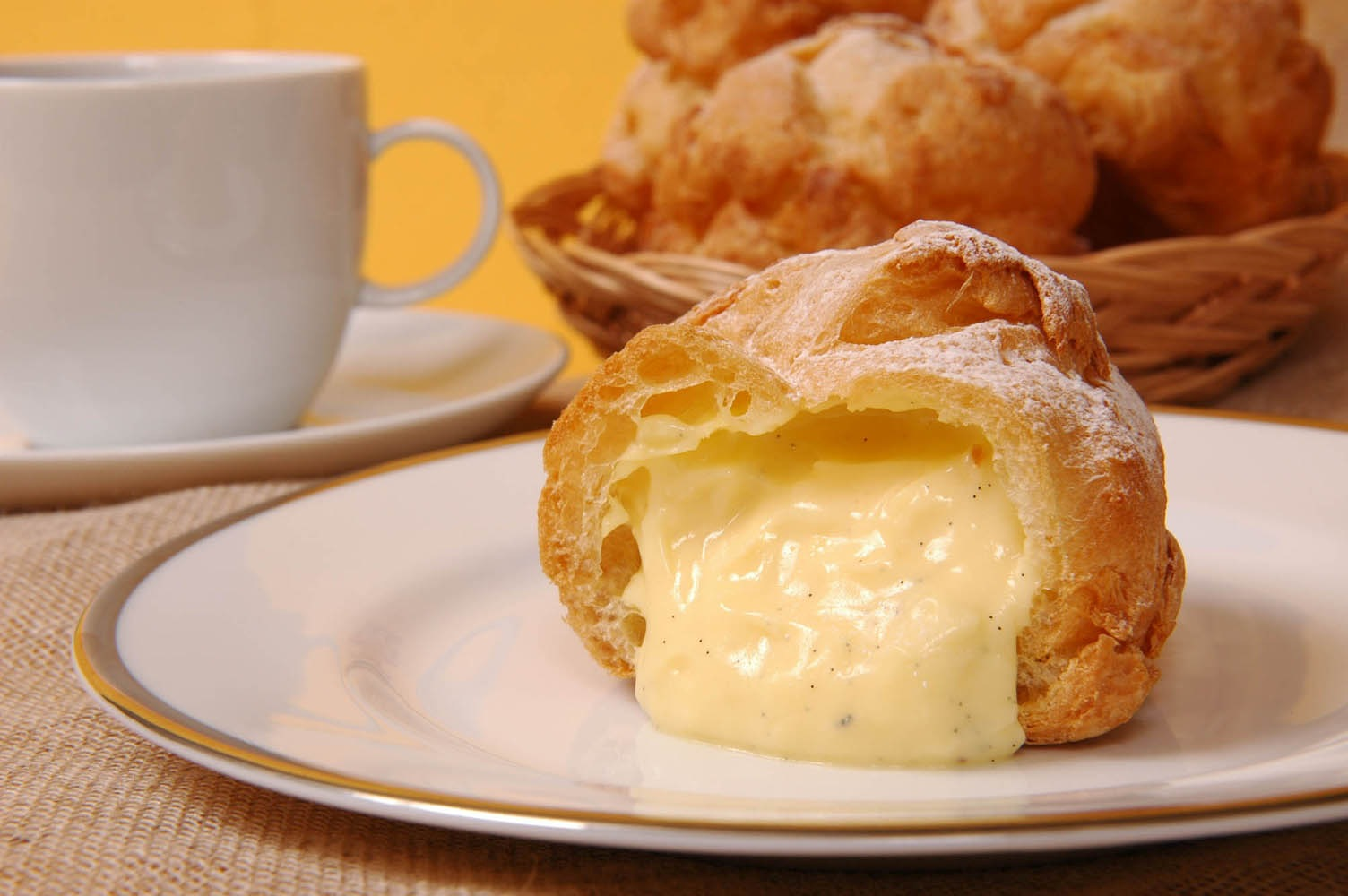 Beard Papa's churns out some of the best cream puffs west of the Mississippi.