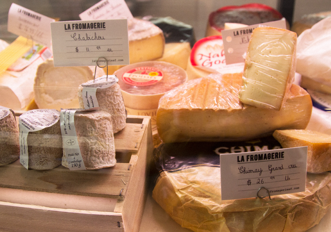 La Fromagerie is an upscale neighborhood cheese shop.