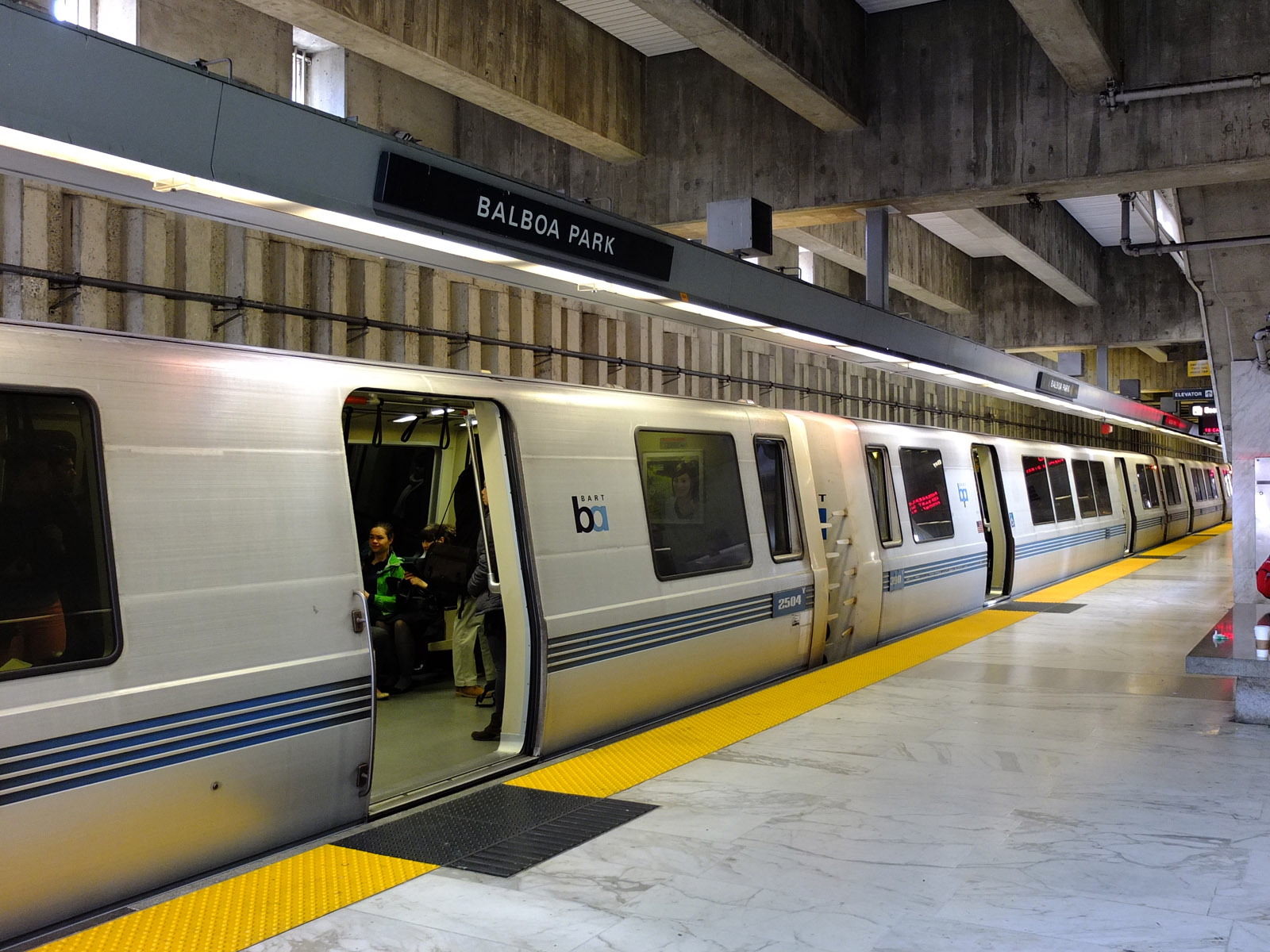 During rush hour, the Balboa Park BART Station is about a five-minute drive from the neighborhood.