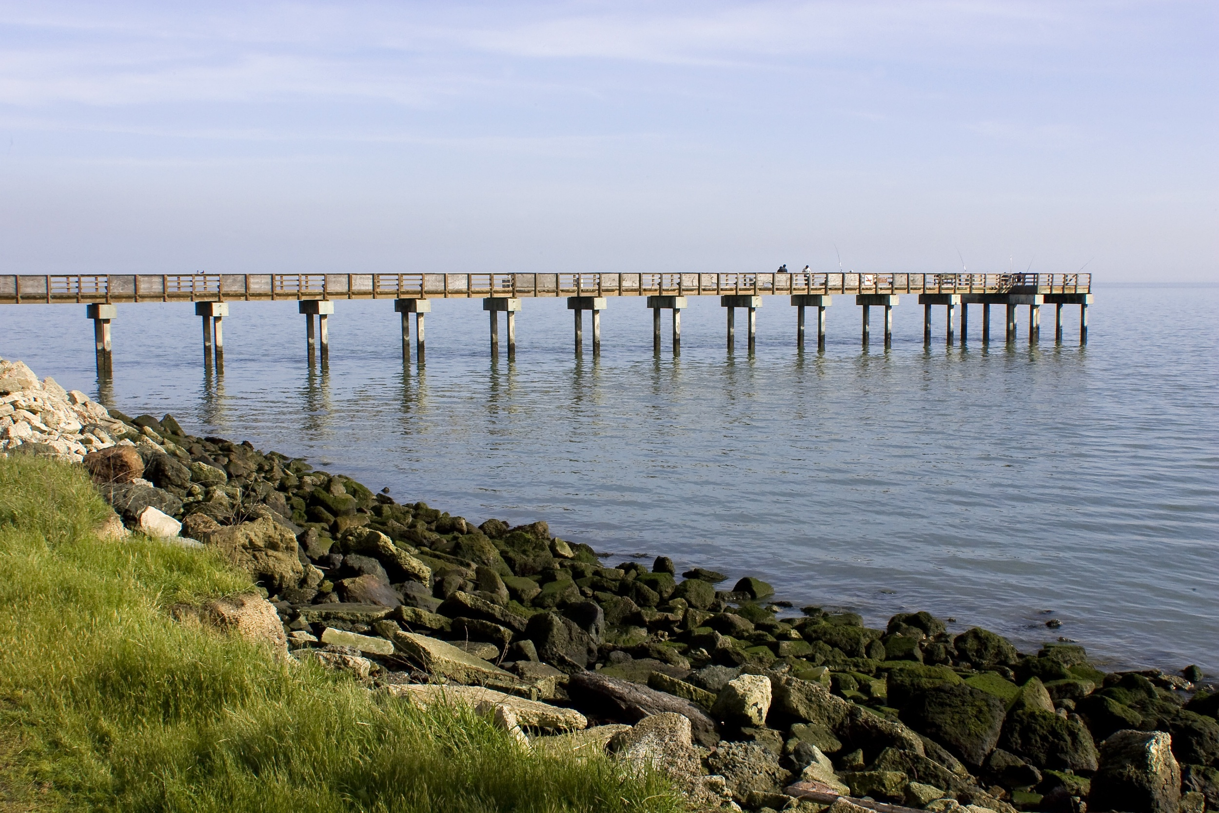 Candlestick Point State Recreation Area is a popular destination for romantic walks.