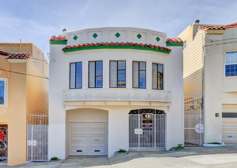 Sold at $1,465,000<strong>535 40th Avenue, San Francisco</strong>