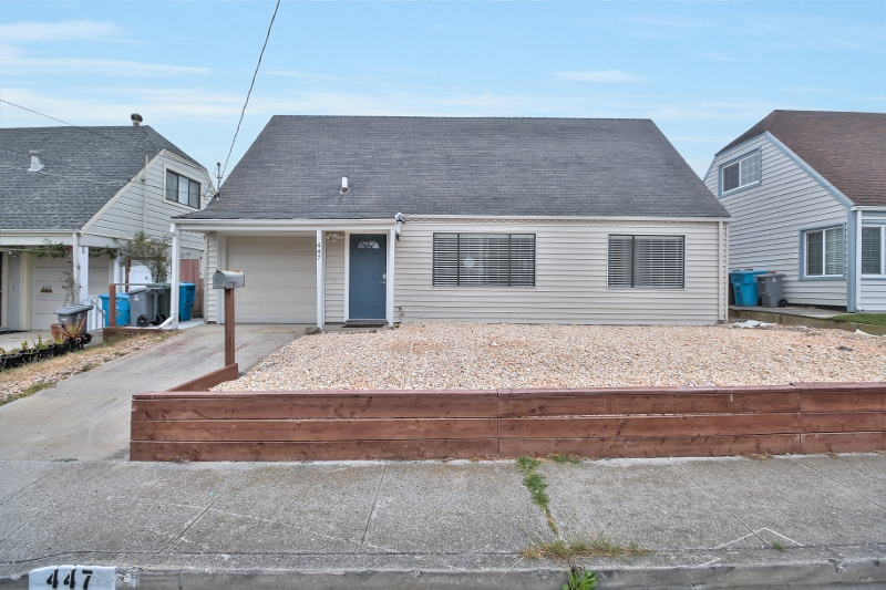Sold at $840,000<strong>447 Inverness Drive, Pacifica</strong>