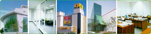 - Sandwich panels - Factory complex buildings