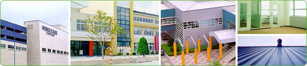 - Sandwich panel - Roof panel - Coastal factory complex