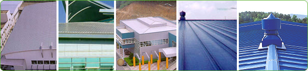 - Sandwich panel - Roof panel - Coastal factory complex
