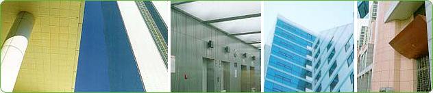 - Construction of interior/exterior materials