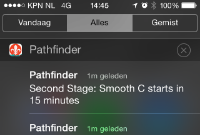 Time Table Push notification