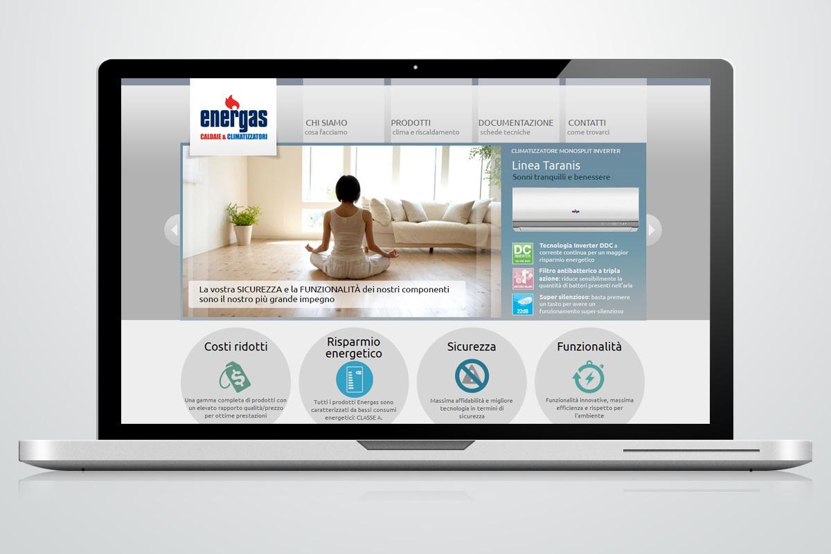 Website - ENERGAS ITALIA