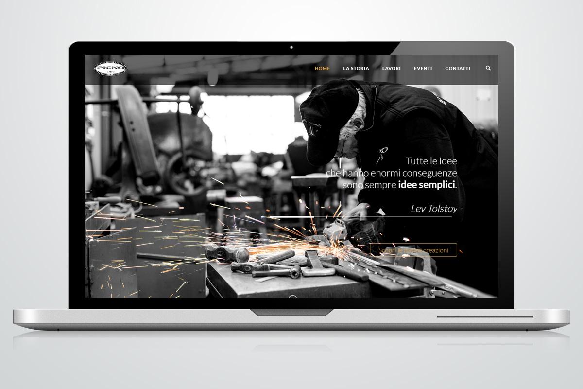 Website - Pigno Martelleria