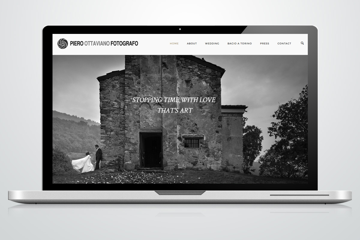 Website - Piero Ottaviano Fotografo