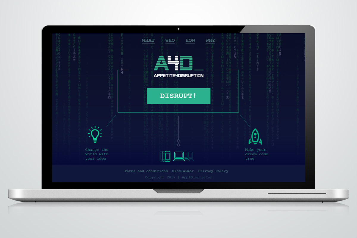 Website - Appetite4Distruption