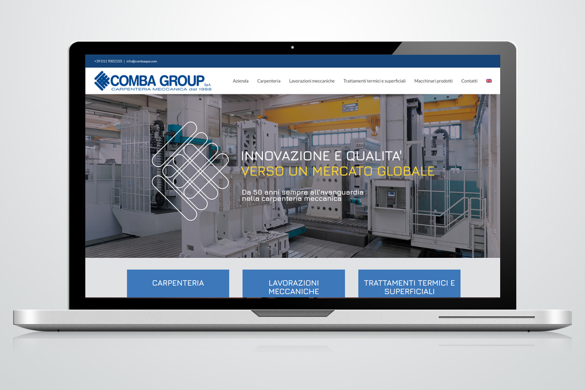 Website - Comba Group