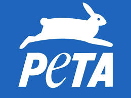 Giving to PETA to help abused animals