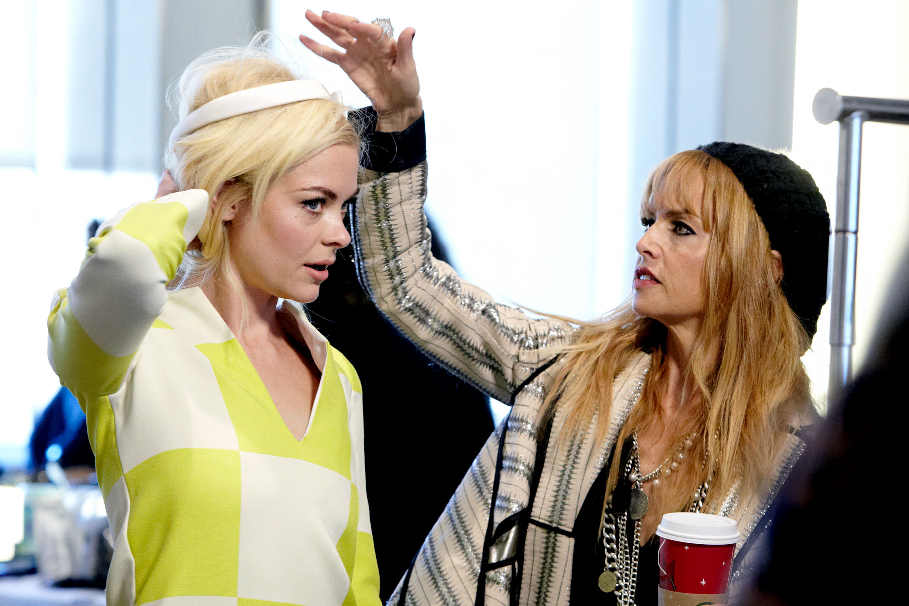 Rachel Zoe styling Jaime King. Rachel Zoe has described many times all the hard work she put in, and she is no stranger to the on-set abuse seasoned stylists endure. The styling industry is seeing an over-saturation of untrained people in the market. This skews the professional perception of our industry.