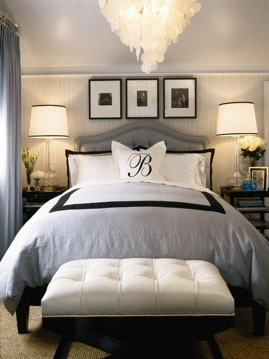 Your bedroom says a lot about how you take care of yourself and also how comfortable she is in your intimate private space. Choose colors that are warm and inviting. Too many men use colors that make women feel uncomfortable. Sophisticated can still be masculine. Image credit: unknown.