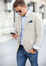 Work with one of the best men's personal stylist and shoppers in LA, Denver, NY