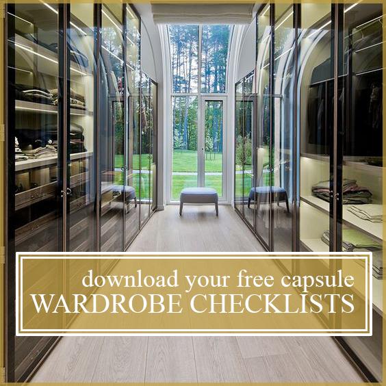 Wardrobe Essentials Checklists
