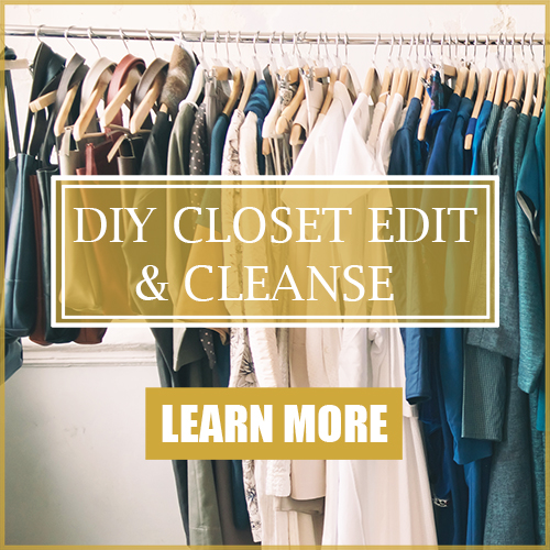 How to organize, clean, and edit your closet and wardrobe like a pro stylist for cheap.